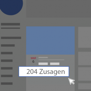 Facebook Event Zusagen