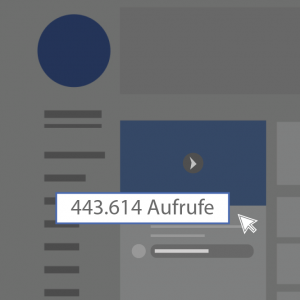 Facebook Videoaufrufe und views